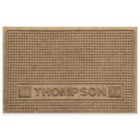 Weather Guard™ 18-Inch x 28-Inch Squares Pet Mat in Camel