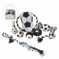 Soccer-Themed 8-Piece Pet Toy Set
