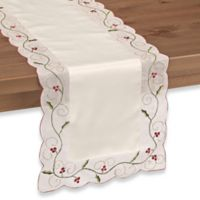 Holly Berry 52-Inch Table Runner