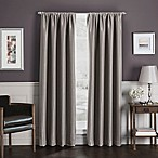 Sebastian 84-Inch Rod Pocket Insulated Total Blackout™ Window Curtain Panel in Mocha