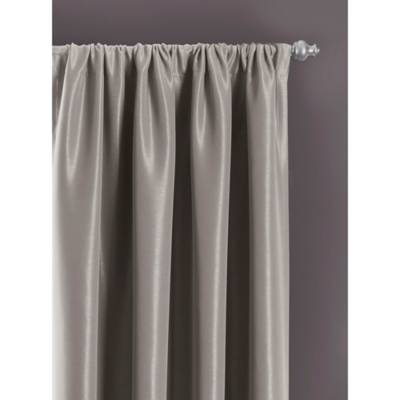 Product Image for Sebastian Rod Pocket Insulated Total Blackout  Window  Curtain Panel 3 out of. Sebastian Rod Pocket Insulated Total Blackout  Window Curtain