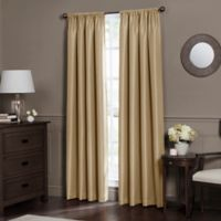 Emery 84-Inch Rod Pocket Insulated Total Blackout Window Curtain Panel in Maize