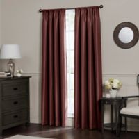 Emery 84-Inch Rod Pocket Insulated Total Blackout Window Curtain Panel in Spice