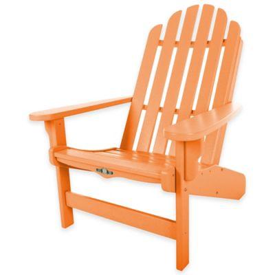 Pawleys Island® Durawood® Essential Adirondack Chair In Orange