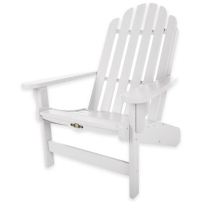 Pawleys Island® Durawood® Essential Adirondack Chair In White