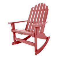 Pawleys Island® Durawood® Essential Adirondack Rocker in Red