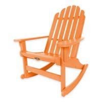 Pawleys Island® Durawood® Essential Adirondack Rocker in Orange