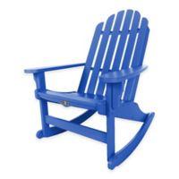 Pawleys Island® Durawood® Essential Adirondack Rocker in Blue