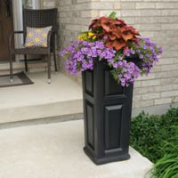 Mayne Nantucket 32-Inch Tall Planter in Black