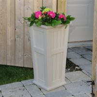 Mayne Cape Cod 32-Inch Tall Planter in Clay