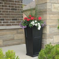 Mayne Cape Cod 32-Inch Tall Planter in Black