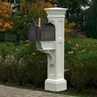 Mayne Liberty Mail Post in White