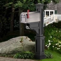 Mayne Dover Mail Post in Black