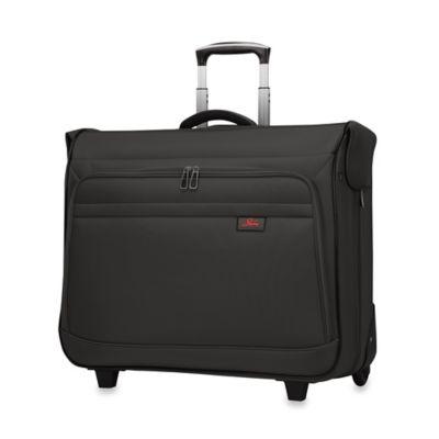 Sigma 5.0 Rolling Garment Bag In Black