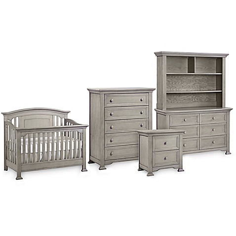 Kingsley brunswick nursery furniture collection in ash grey buybuy baby Baby bedroom furniture sets