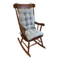 Klear Vu Omega Extra Large 2 Piece Rocking Chair Pad Set In Grey