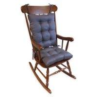 Klear Vu Omega Extra-Large 2-Piece Rocking Chair Pad Set in Grape