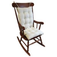 Klear Vu Omega Extra-Large 2-Piece Rocking Chair Pad Set in Ivory