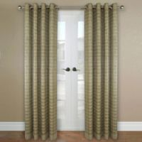 Versailles Home Natural Sustainable Bamboo 63-Inch Grommet Window Curtain Panel in Driftwood
