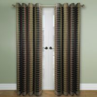 Versailles Home Natural Sustainable Bamboo 63-Inch Grommet Window Curtain Panel in Multicolor