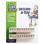 Baby Buddy® Secure-a-Toy Multicolor Straps (Set of 2)