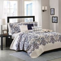 Madison Park Cali 6-Piece Quilted King/California King Coverlet Set