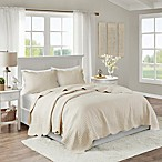 Madison Park Tuscany 3-Piece Full/Queen Coverlet Set in Ivory