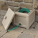 Mayne Fairfield Garden Hose Bin in Clay