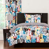 Crayola® Dream On Reversible Twin Comforter Set