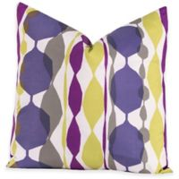 Crayola® Bejeweled European Pillow Sham in Purple