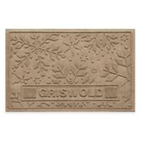 Weather Guard™ 23-Inch x 36-Inch Holiday Snowflake Door Mat in Camel