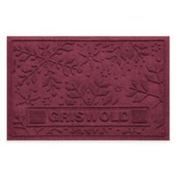 Weather Guard™ 23-Inch x 36-Inch Holiday Snowflake Door Mat in Bordeaux