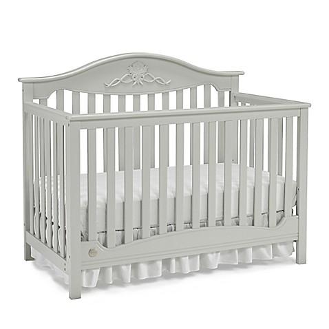 Fisher-Price® Mia 4-in-1 Crib in Misty Grey - buybuy BABY