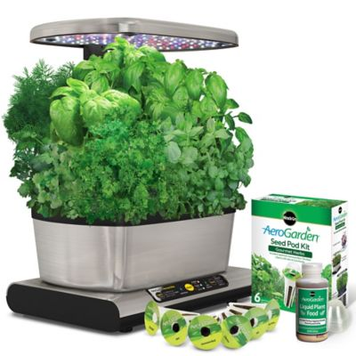 Miracle Gro AeroGarden Harvest Elite Bed Bath Beyond