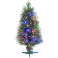 buy christmas fiber optic tree bed bath beyond