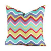 Crayola® Mixed Palette Chevron 18-Inch Square Throw Pillow