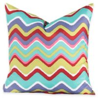 Crayola® Mixed Palette Chevron European Pillow Sham