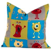 Crayola® Monster Friends European Pillow Sham in Blue