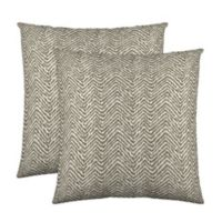 Colorfly® Citizen Throw Pillow in Taupe (Set of 2)