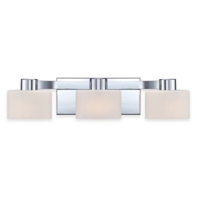 Vanity Lights Bed Bath And Beyond : Illumina Direct Cameron 3-Light Bath Vanity Fixture in Polished Chrome - Bed Bath & Beyond