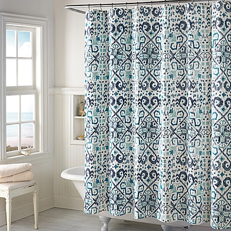 Curtains Ideas bed bath and beyond bathroom curtains : Iona Shower Curtain - Bed Bath & Beyond