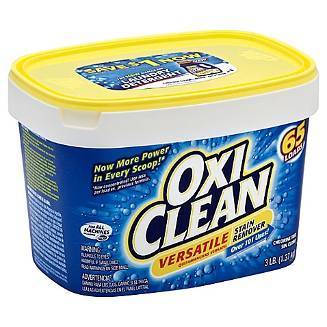 OxiClean Laundry Stain Remover gets out your toughest laundry stains and odors, such as wine, blood, blueberry, dirt, tomato, grass and even set-in stains. This unique formula starts to work before your eyes. OxiClean is a multi-purpose stain remover that can be used to remove tough stains throughout your home. It is chlorine-free and color-safe.4/4().