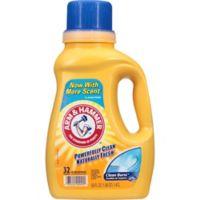 Arm and Hammer™ 50 oz. Liquid Laundry Detergent in Clean Burst