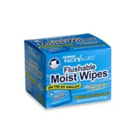 Harmon® Face Values™ 20-Count Flushable Moist Wipes Individually Packaged