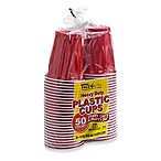 Harmon® Face Values™ 50-Count 18 oz. Heavy Duty Party Plastic Cups in Red