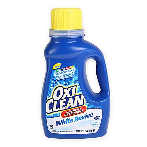 Oxiclean White Revive 40 Oz Laundry Detergent In Ocean