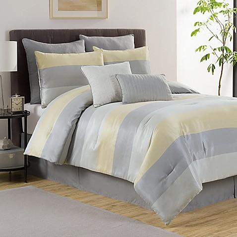 Victoria Classics Hudson 6 8 Piece Reversible Comforter