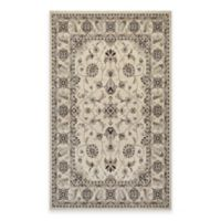 Couristan® Everest Rosetta 5-Foot 3-Inch x 7-Foot 6-Inch Area Rug in Ivory