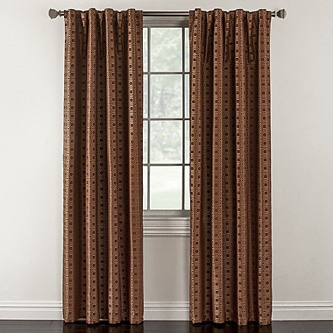 Milo Rod Pocket Lined Window Curtain Panel Bed Bath Beyond