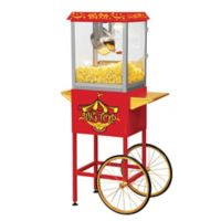 Big Top Popcorn Cart in Red